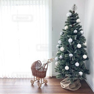 クリスマスツリーの写真・画像素材[3829373]