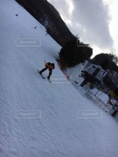 長野県でスキーの写真・画像素材[3207720]