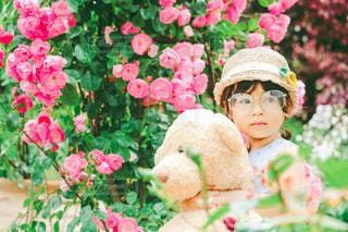 ローズガーデンのメガネちゃんの写真・画像素材[3215870]