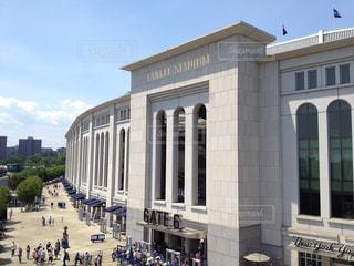 MLB ヤンキースタジアム外観の写真・画像素材[3223277]