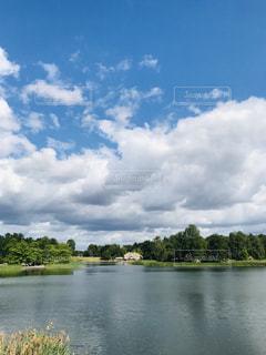 大きな水域の写真・画像素材[3203272]
