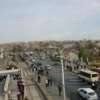 日常の街の風景の写真・画像素材[3207322]