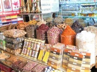 インドのスパイス専門店の写真・画像素材[4512232]