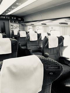 新幹線 グリーン車の写真・画像素材[3207770]