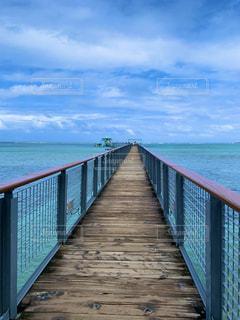 桟橋の写真・画像素材[3213844]