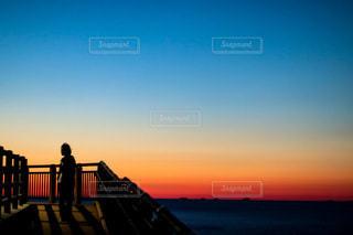 夕暮れの色の写真・画像素材[3279601]