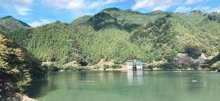 ダム湖の写真・画像素材[3213041]