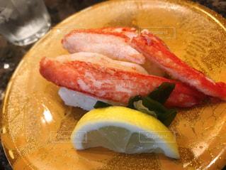 ズワイ蟹のお寿司の写真・画像素材[3222885]
