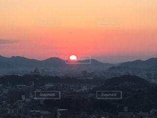 夕日の写真・画像素材[318445]