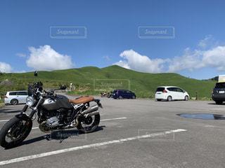 BMW RnineT scramblerの写真・画像素材[3221441]