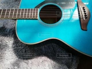 ギターのクローズアップの写真・画像素材[3234882]