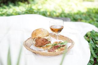 おうちピクニックの写真・画像素材[3303090]