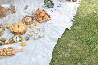 青空ピクニックの写真・画像素材[3303175]