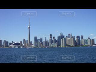 カナダ トロントの街並みが一望出来る写真の写真・画像素材[3223430]
