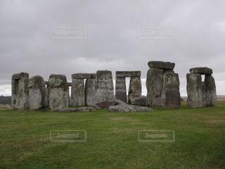 イギリスの世界遺産 ストーンヘンジの写真・画像素材[3223522]
