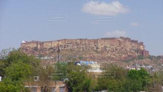 ジョードプルのシンボル メヘラーンガル城砦の写真・画像素材[3223520]