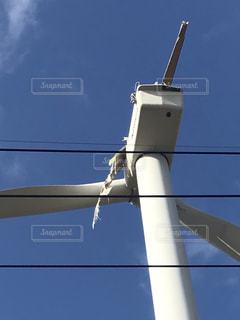 羽の折れた風車の写真・画像素材[3226305]