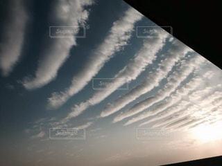珍しい雲の写真・画像素材[3231398]