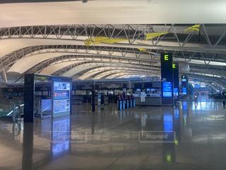 誰もいない関西国際空港(コロナ)の写真・画像素材[3226427]
