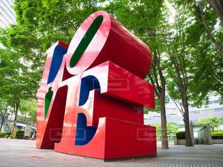 新宿 LOVEオブジェの写真・画像素材[3235500]
