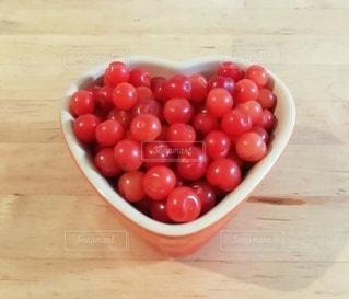 赤い実の写真・画像素材[3250356]