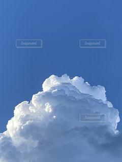 空の雲のクローズアップの写真・画像素材[3634007]