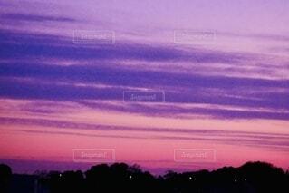 夕焼けの写真・画像素材[4000378]
