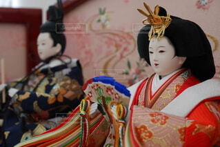 和装を着ている人の写真・画像素材[4205703]