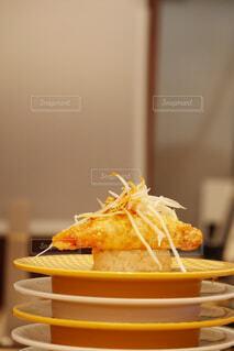 重なっている食べ物の皿の写真・画像素材[4459183]