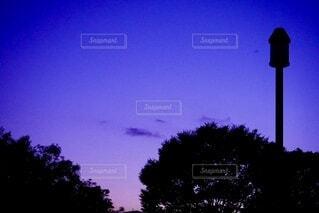 夕暮れの空の写真・画像素材[4913829]