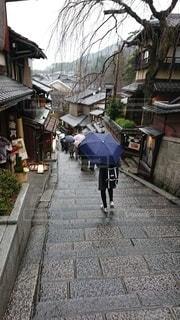 雨の京都の写真・画像素材[3295218]