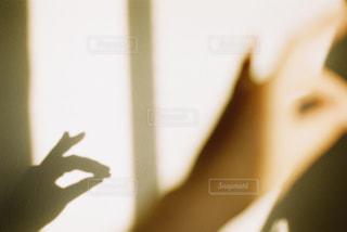 影遊びの写真・画像素材[3229995]