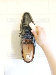 靴磨きの写真・画像素材[3277124]
