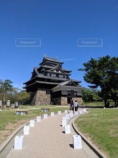 松江城の写真・画像素材[3230581]
