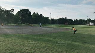 アメリカの少年野球の写真・画像素材[3231099]