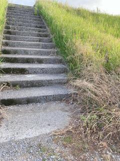 階段、景色の写真・画像素材[3231789]