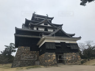 松江城の写真・画像素材[3232225]