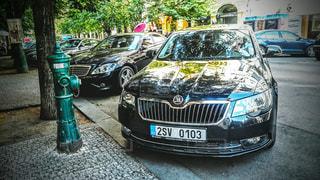 チェコの街並み シュコダの写真・画像素材[3234091]