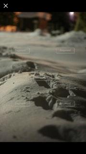 砂のクローズアップの写真・画像素材[3236045]