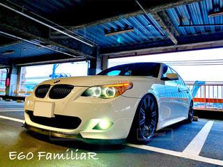 BMWの日常(立体駐車場)の写真・画像素材[3236565]