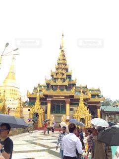 ミャンマー寺院の写真・画像素材[3240342]
