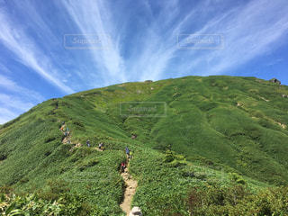 初夏の登山の写真・画像素材[3240860]