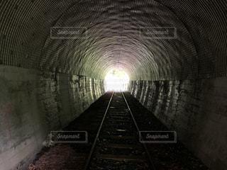 静岡県 井川貨物線廃線トンネルの写真・画像素材[3378285]