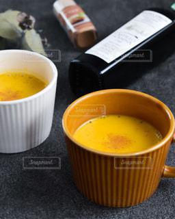 かぼちゃのポタージュの写真・画像素材[3485037]