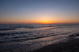瀬戸内海の夕陽の写真・画像素材[3246896]