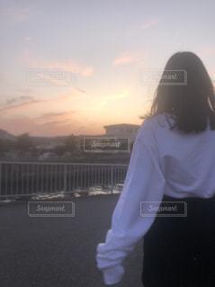 サンセットの写真・画像素材[3243471]