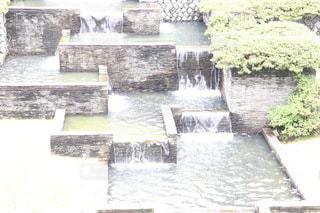 石の滝の写真・画像素材[3596494]