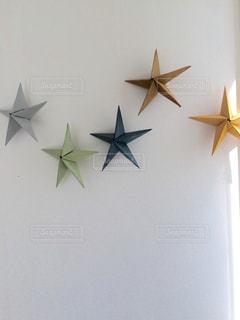 インテリア,マイホーム,星,ハンドメイド,折り紙,和紙,飾り
