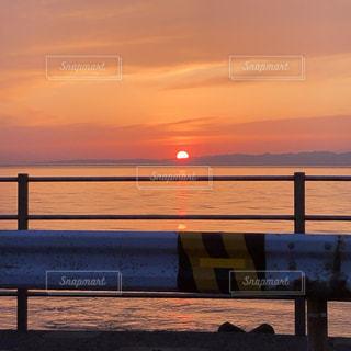 夕日が綺麗な日の写真・画像素材[3253881]