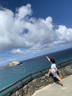 夏の海の写真・画像素材[3295596]